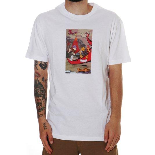 Camiseta Thank You Stoneage Tee Branco