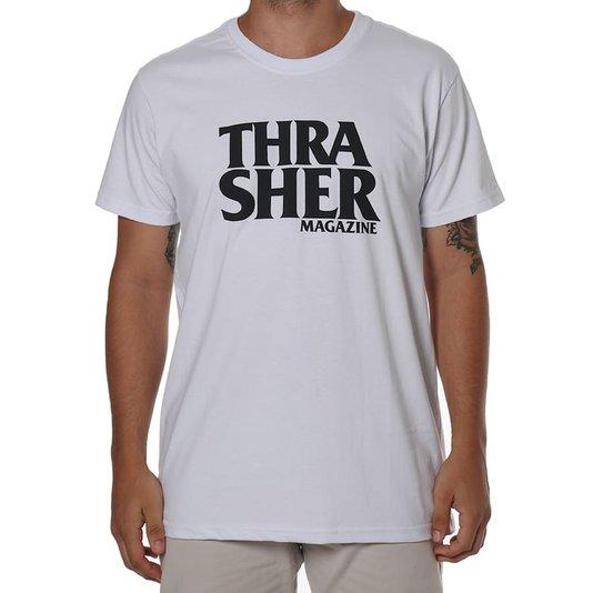 Camiseta Thrasher Magazine Anti-Logo Branco