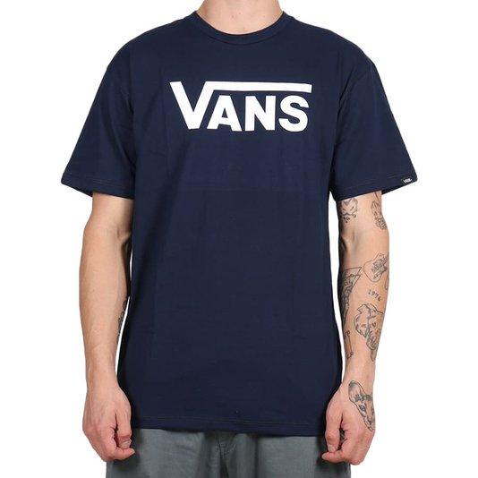 Camiseta Vans Classic Dress Azul