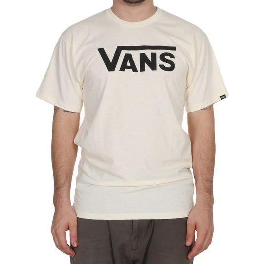 Camiseta Vans Classic Speed Pearl Creme