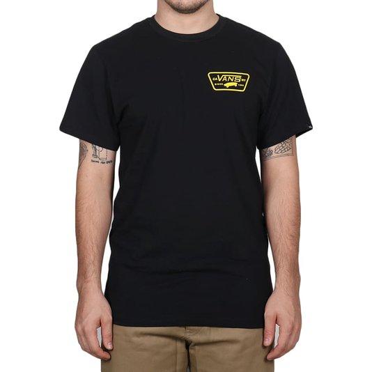 Camiseta Vans Full Patch Back Ss Preto
