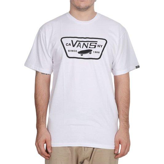Camiseta Vans Full Patch Branco