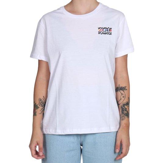 Camiseta Vans Heat Seeker Feminina Branco