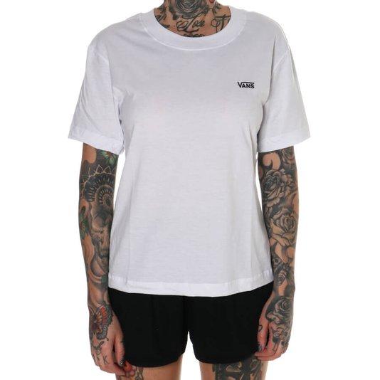 Camiseta Vans Junior Box Feminina Branco