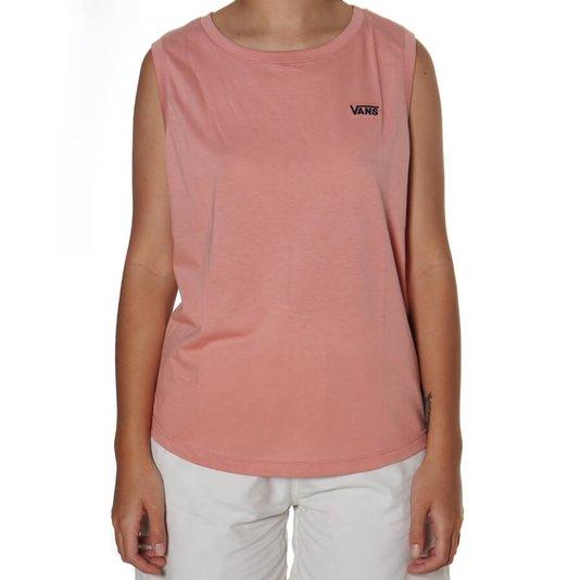 Camiseta Vans  Junior V Muscle Rose