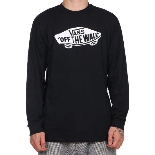 Camiseta Vans M/L Otw Ls Preto
