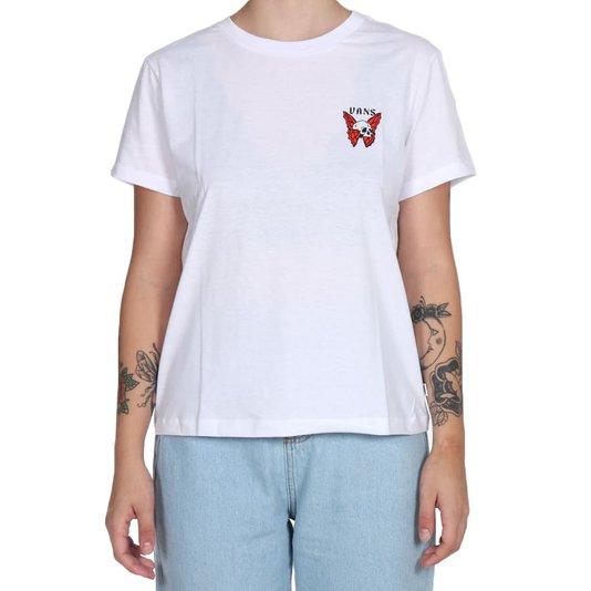 Camiseta Vans Pueblo Buds Feminina Branco