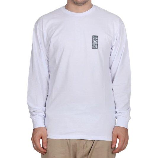 Camiseta Vans Quick Response M/L Branco