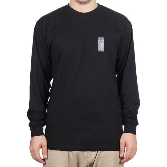 Camiseta Vans Quick Response M/L Preto