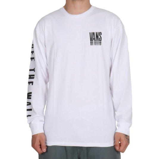 Camiseta Vans Reflect M/L Branco
