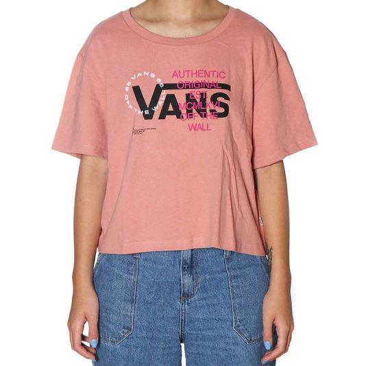 Camiseta Vans Wm Ya Mos Rose Dawn Fem Rose