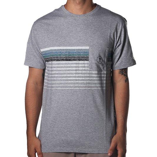 Camiseta Vissla Cantina Cinza Mescla