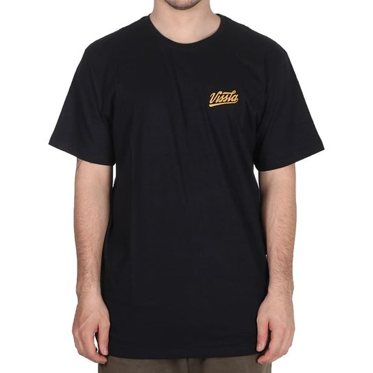Camiseta Vissla Home Run Preto