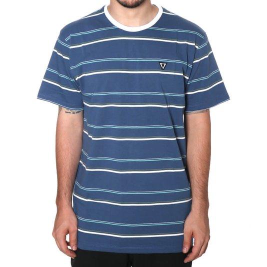 Camiseta Vissla Shoreline  Azul/Branco