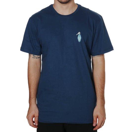 Camiseta Vissla Silk Casino Azul