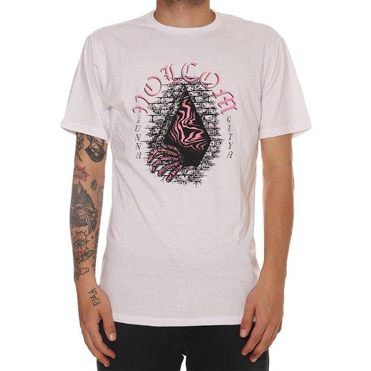 Camiseta Volcom Creeper Branco
