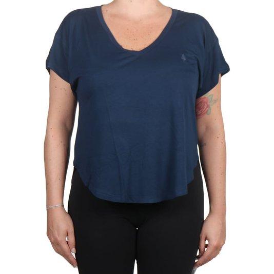 Camiseta Volcom Especial Blanks Stone Feminina Azul