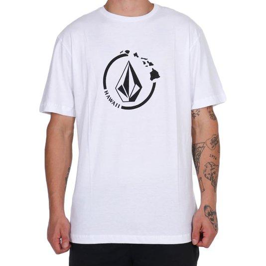 Camiseta Volcom Neo Stone Branco
