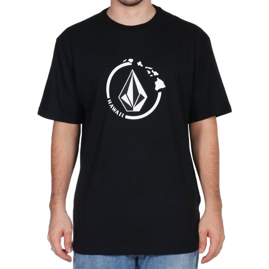 Camiseta Volcom Neo Stone Preto
