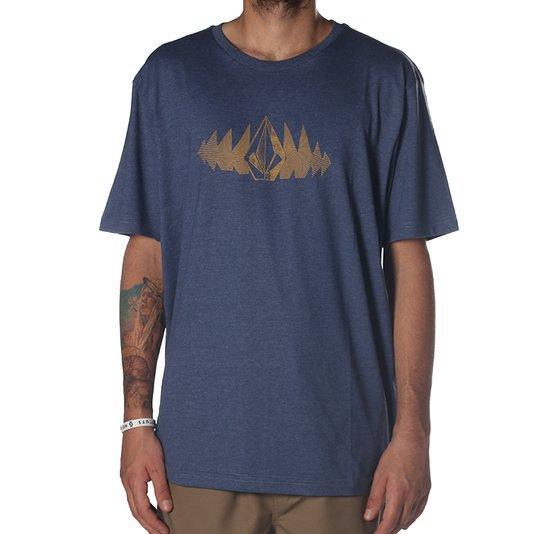 Camiseta volcom Phase Too Azul