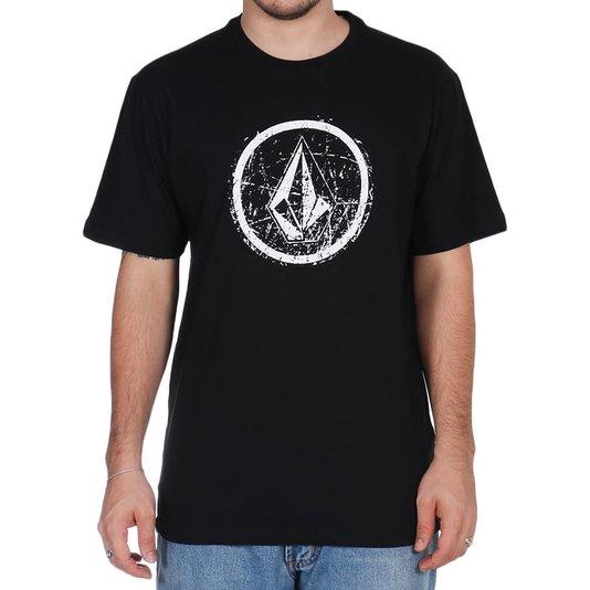 Camiseta Volcom Rampstone Preto