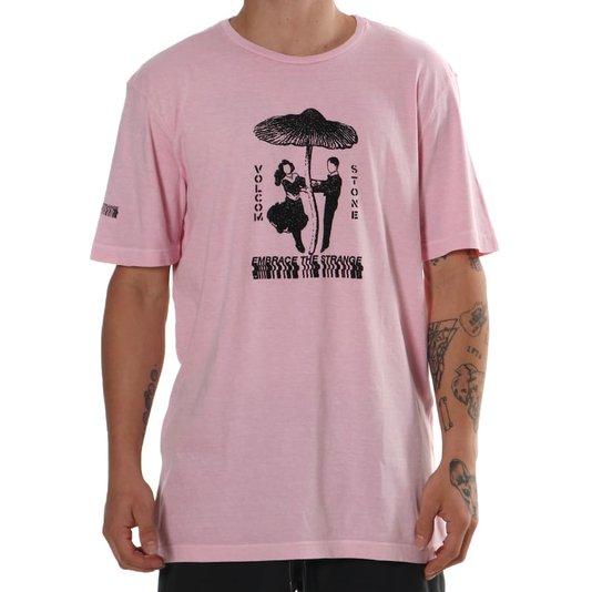 Camiseta Volcom Shroomer Rosa