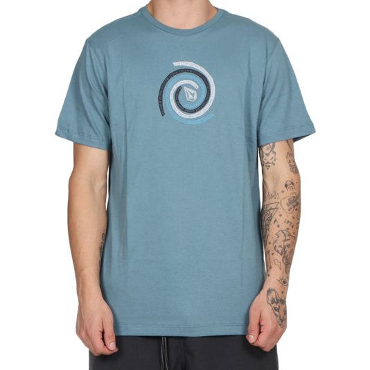 Camiseta Volcom Stone Swirl Azul