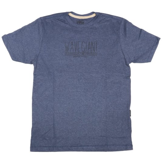 Camiseta Wave Giant Infanto - Juvenil Driven Azul Marinho Mescla