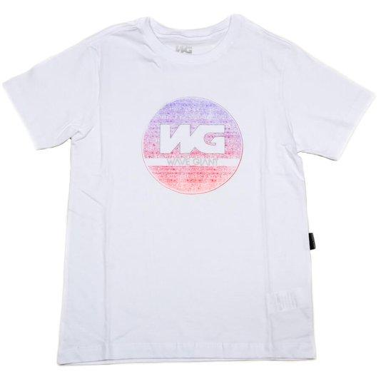Camiseta Wave Giant Infanto - Juvenil Tribe Neon Branco
