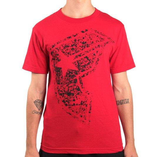 Camiseta Famous Splat Boh Vermelho