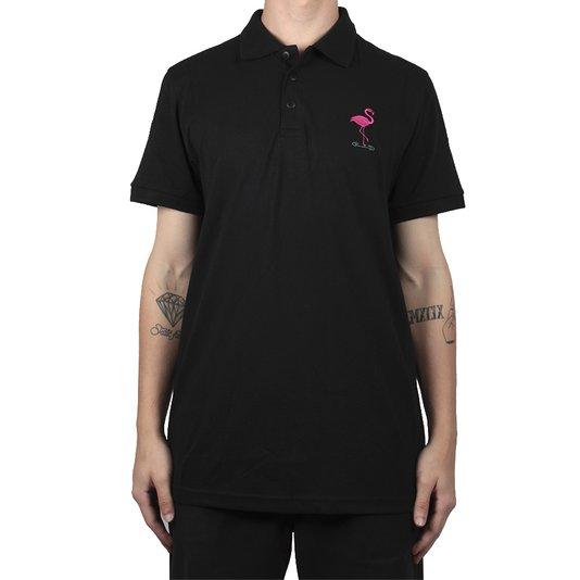 Camisa Polo Blaze Flamingo Preto
