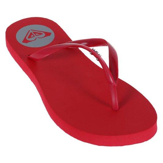 Chinelo Roxy Sandals Viva Vermelho