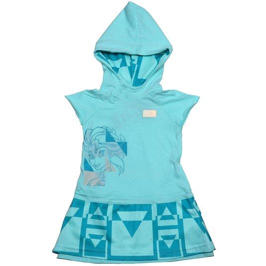 Conjunto Adidas Disney Elsa Frozen Verde Agua