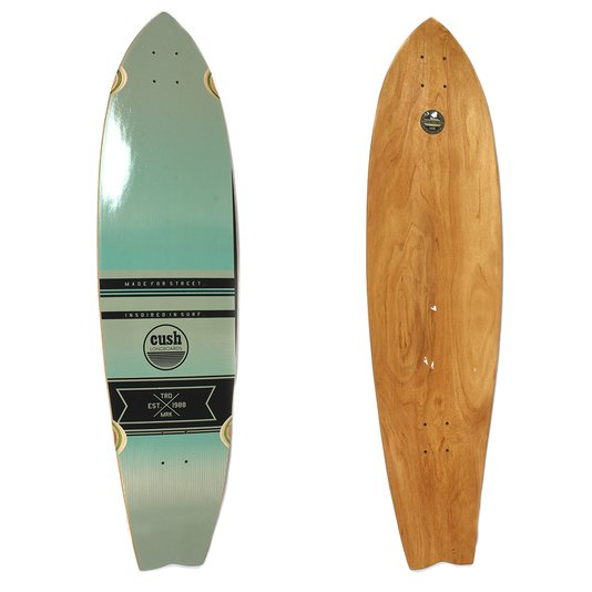 Shape Cush Longboard Made 4 Street Verde Agua