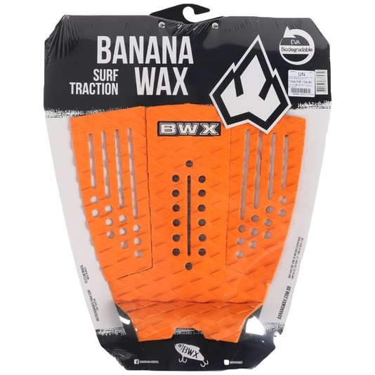 Deck Banana Wax Surf Traction Laranja/Preto