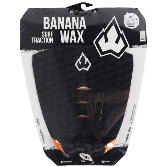 Deck Banana Wax Surf Traction Preto/Laranja