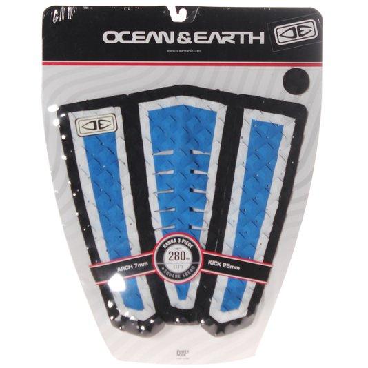 Deck Ocean&Earth Arch 7mm kick 25 mm preto/Azul/Cinza