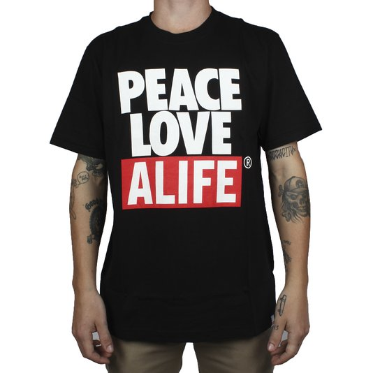 Camiseta Alife Crab Shack Preto