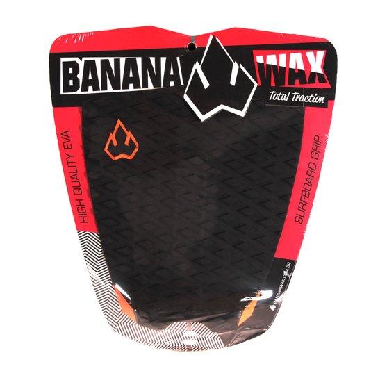 Deck Banana Wax Total Traction Preto/Laranja