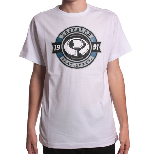 Camiseta Drop Dead League Branco