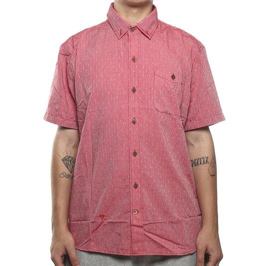 Camisa Vissla Foam Dust Vermelho