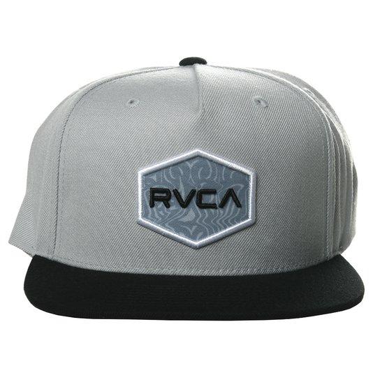 Boné RVCA Cwealth Class Cinza/Preto