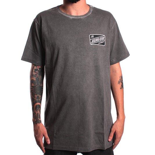 Camiseta Santa Cruz Esp. Gasolina Dye Preto