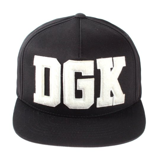 Bone Dgk Logo Off Preto