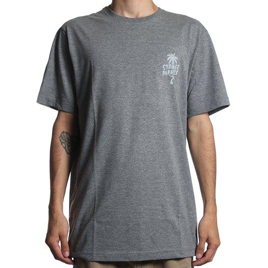 Camiseta Globe Saviour Chumbo Mescla