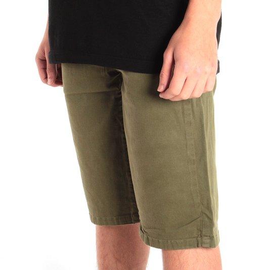 Bermuda Volcom Jeans 2X4 Vi Verde Oliva