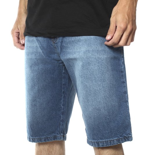 Bermuda Billabong Fifty Straight Azul Jeans