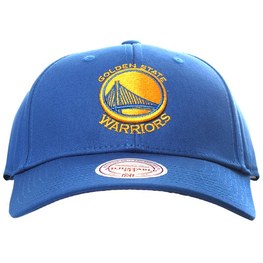 Boné Mitchell & Ness Golden State Warriors Azul/Amarelo