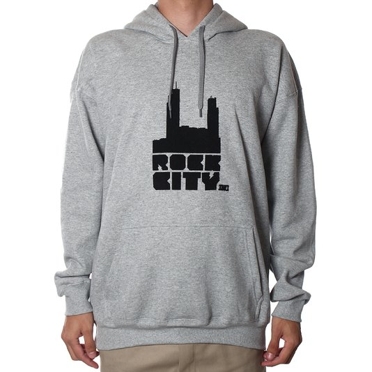 Moletom Rock City Logo Tradicional 18 Mescla