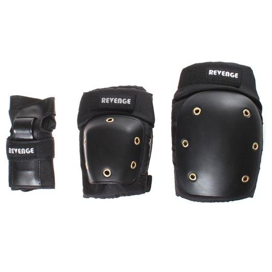 Kit Proteção Revenge Preto